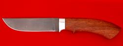 Охотничий нож Грибник, клинок сталь Х12МФ, рукоять макоре