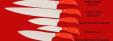 """Нож """"Шинковочный большой"""", клинок сталь 95Х18, рукоять G10 (цвет оранжевый)"""