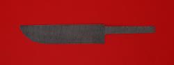 Клинок для ножа Узбекский, дамасская сталь