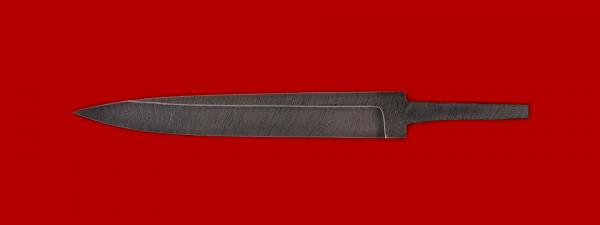 """Клинок для ножа """"Егерь"""", дамасская сталь"""