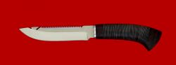Нож Рыбацкий, клинок сталь 95Х18, рукоять кожа