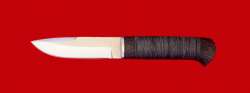 Охотничий нож Архар, клинок сталь 65Х13, рукоять кожа