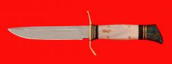 Реплика Финка НКВД, клинок кованая сталь У8, рукоять лосиный рог