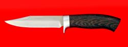 Нож Гюрза, клинок сталь 65Х13, рукоять венге