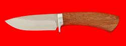 Охотничий нож Соболь-2, клинок сталь 65Х13, рукоять дуб