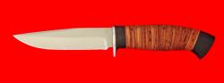 Нож Сокол, клинок сталь 65Х13, рукоять береста