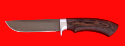 Охотничий нож Грибник-2, клинок сталь Х12МФ, рукоять венге