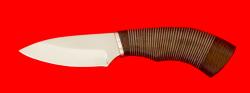Нож Шершень, клинок сталь 65Х13, рукоять кожа