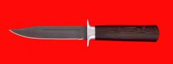 Нож Разведчик, клинок сталь Х12МФ, рукоять венге