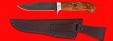 """Нож """"Сокол"""", клинок сталь Х12МФ, рукоять карельская береза"""