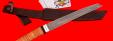 """Нож """"Самурай магнум"""", клинок дамасская сталь, рукоять береста"""
