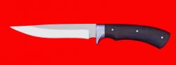 Нож Багира, цельнометаллический, клинок сталь 65Х13, рукоять венге