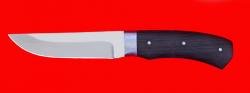 Охотничий нож Бурундук, цельнометаллический, клинок сталь 65Х13, рукоять венге