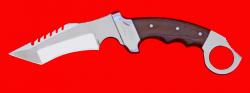 Нож тактический Берсерк, цельнометаллический, клинок сталь 65Х13, рукоять текстолит