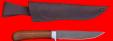 """Нож """"Засапожный №1"""", клинок сталь Х12МФ, рукоять орех"""