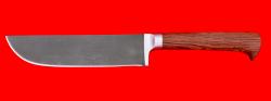 Нож Узбекский, клинок сталь Х12МФ, рукоять маккоре
