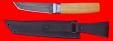 """Нож """"Самурай малый"""", клинок дамасская сталь, рукоять самшит"""