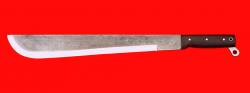 Нож Мачете-3, цельнометаллический, клинок сталь У8 кованая, рукоять венге