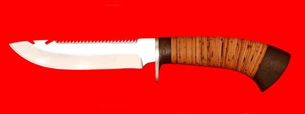 "Нож ""Рыбацкий-2"", клинок сталь 65Х13, рукоять береста"