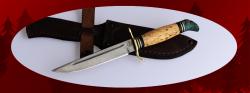 Реплика Финка НКВД, клинок сталь D2, рукоять карельская береза