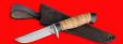 """Охотничий нож """"Финский"""", клинок сталь D2, рукоять береста"""