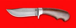 Охотничий нож Филин, клинок сталь D2, рукоять венге