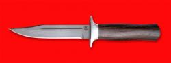 Нож Разведчик, клинок сталь D2, рукоять венге