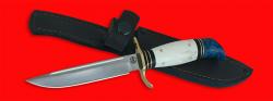 Реплика Финка НКВД, клинок порошковая сталь ELMAX, рукоять лосиный рог