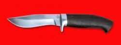 Охотничий нож Вальдшнеп-2, клинок порошковая сталь ELMAX, рукоять венге