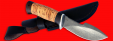 "Нож ""Сплав"", клинок сталь D2, рукоять береста"