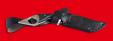 """Нож тактический """"Вепрь"""", цельнометаллический, клинок сталь 65Х13, рукоять венге"""