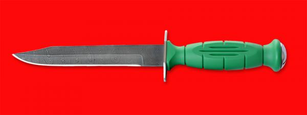 """Нож разведчика НР-43 """"Вишня"""", разборный, клинок дамасская сталь, рукоять пластмасса"""