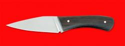 Нож тактический Хуген, цельнометаллический, клинок сталь 65Х13, рукоять венге