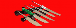 """Нож со сменными клинками на базе НР-43 """"Вишня"""", комплектация """"Коллекционер"""", рукоять пластмасса"""