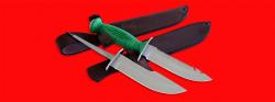 Нож со сменными клинками на базе НР-43 Вишня, комплектация Рыбак-Охотник №2, рукоять пластмасса
