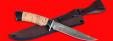 """Нож """"Багира"""", клинок порошковая сталь Vanadis 10, рукоять береста"""