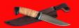 """Охотничий нож """"Марал"""", клинок порошковая сталь Vanadis 10, рукоять береста"""