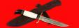 """Реплика """"Финка НКВД"""", клинок порошковая сталь Vanadis 10, рукоять лосиный рог"""