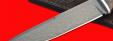 """Нож """"Мясник"""", клинок сталь Х12МФ, рукоять береста, с отверстием под темляк (ремешок)"""