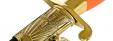 """""""Кортик офицерский военно-воздушных сил ВВС СССР"""", разборный, образца 1945 года, рукоять пластмасса"""