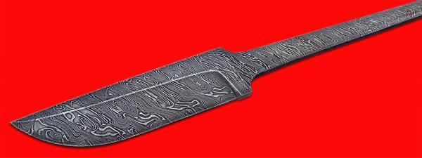 """Клинок для ножа """"Грибник"""", дамасская сталь"""