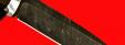 """Нож """"Мясник"""", клинок дамасская сталь, рукоять венге, деревянный чехол"""