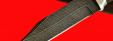 """Нож """"Пантера"""", клинок дамасская сталь, рукоять венге, деревянный чехол"""