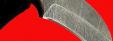 """Нож """"Касатка"""", цельнометаллический, клинок дамасская сталь, рукоять венге"""