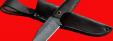 """Нож """"Крайт"""", цельнометаллический, клинок дамасская сталь, рукоять венге"""