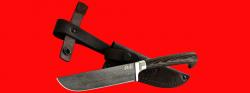 Нож Узбекский, клинок тигельный булат, рукоять венге