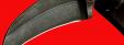 """Нож-керамбит """"Клюв орла"""", цельнометаллический, клинок дамасская сталь, рукоять венге"""