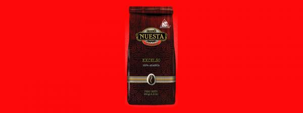 Кофе в зёрнах Nuesta Excelso Колумбия 250г