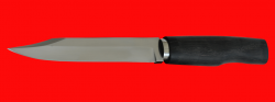 """Реплика """"Нож разведчика-диверсанта"""", клинок сталь У8, рукоять морёный дуб"""