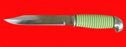 Финка 007, клинок кованый сталь 95Х18, рукоять наборный пластик